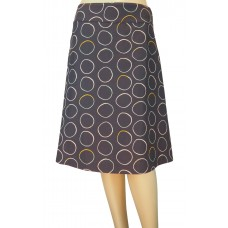 White Stuff 'Coffee Cup Reversible Skirt'