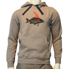 Hooded printed PKT Sweats Pez light heather grey