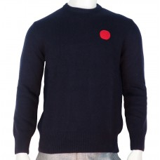 Loreak Knit Sweaters Dot merinos navy