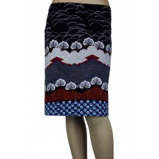 White Stuff 'Kozu printed Cord Skirt'