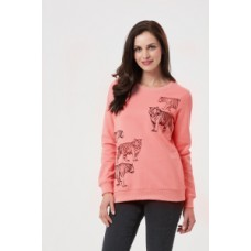 Alanis Tiger embroidered Sweatshirt