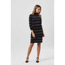 'Sabrina Lurex Stripe knit Dress'