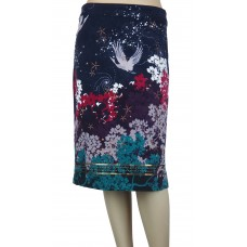 White Stuff 'Cosmic Velvet Skirt'