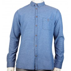 White Stuff 'Tradesmen Dobby Chambray Shirt'