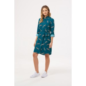 Tally Dazzle of Zebras Shirt Dress