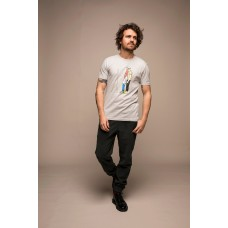 Olow T-Shirt Barbe gris