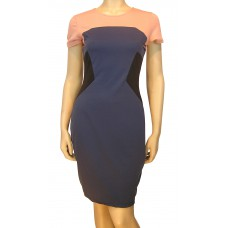'Holly Panelled Ponte Dress'