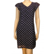 YUMI Original Spot Print Lace Dress