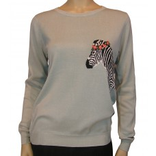 'Zebra Sweater'
