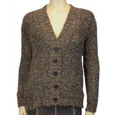 'Knit Jackets Cardigan Artzai Tribeca Mouline choco'