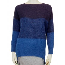 Knit Sweater Rothko Sciarada blue