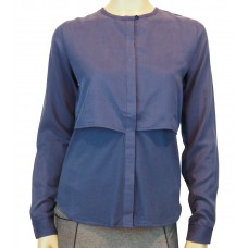 Wunderwerk 'Layer blouse tencelmix' smoky blue