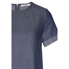 "Wunderwerk 'Tencel denim blouse"" blue"