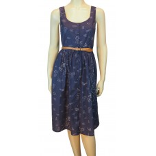 Beatrice Map Sundress