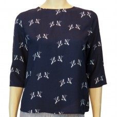Addi Bird print Top