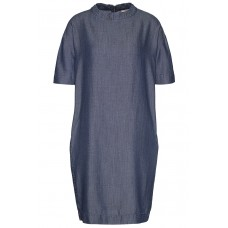 "Wunderwerk 'Tencel denim turtledress"" blue"