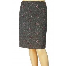 White Stuff 'Tipi emb Skirt' grey