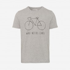 Armedangels 'James City Bike' grey melange