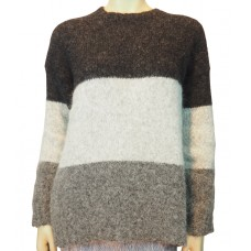 Knit Sweaters Jur fleece ecru/heather grey/black