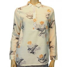White Stuff 'Finch Print Shirt'