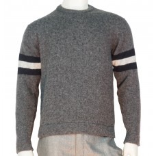 Loreak Knit Sweaters Crewneck Pinon Tigre heather grey