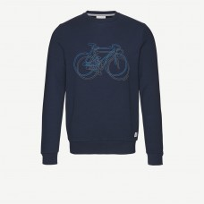 Armedangels 'Yorick Bike on Bike' dark navy