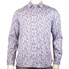 White Stuff 'Iris floral Shirt' pale blue