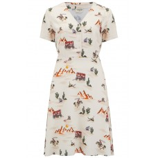 'Carrie Vintage Cowboy Tea Dress'