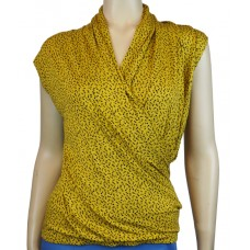 Frenetique Wickeltop 'Dreams in yellow'