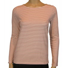 People Tree 'Bardot breton Top'
