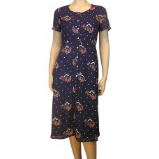 'Summer flowers Print Midi dress'