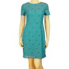 'Nadine Bird Print Dress'
