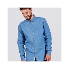 Minimum 'Ossary Shirt' medium blue