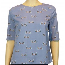 'Alexa Folk Bird Top'