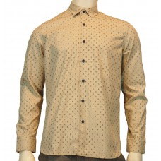 Peter Werth Oberhemd 'Bembridge' LS micro leaf printed cotton shirt