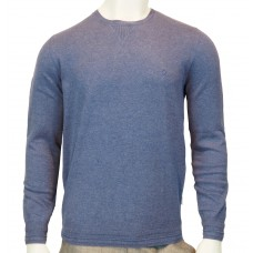 Peter Werth Bryson Crew LS knitted cotton Marl