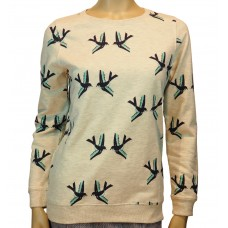 Graphic Birds Sweatshirt