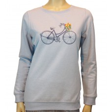 Floral Bicycle Sweatshirt